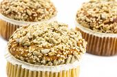 Spelt Muffins With Sesame And Grains