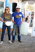 LOS ANGELES - MAR 8:  Kelly Sullivan, Dominic Zamprogna at the 5th Annual General Hospital Habitat f