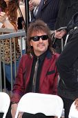 LOS ANGELES - MAR 6:  Richie Sambora at the Ray Parker Jr Hollywood Walk of Fame Star Ceremony at Wa