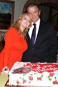 LOS ANGELES - MAR 4:  Melody Thomas Scott, Eric Braeden at the Melody Thomas Scott Celebrates 35 Yea