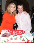 LOS ANGELES - MAR 4:  Melody Thomas Scott, Josh O'Connell at the Melody Thomas Scott Celebrates 35 Y