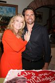 LOS ANGELES - MAR 4:  Melody Thomas Scott, Joshua Morrow at the Melody Thomas Scott Celebrates 35 Years at the