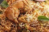 stock photo of biryani  - Hyderabadi Biryani  - JPG