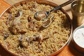 Ahmedi Biryani - An Indian dish