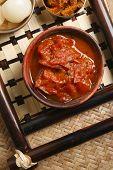 Tomato Oambal Chutney - A dish from Nagaland.