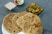 Paratha is a flatbread that originated in India
