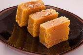 Mysore Pak is a traditional sweet from India