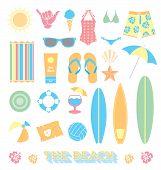 Vector Set: Beach Fun Objects
