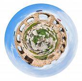 Greco Roman City Of Gerasa Jerash In Jordan