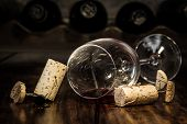 Wine Cork Figures, Concept Men To Get Tipsy With Wine