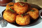 Fried Dhokla