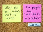 Leader's Work