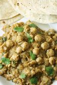 Chana dal in spicy gravy from North India