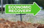 wirtschaftliche Erholung Zeichen
