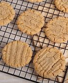 Cooling Peanut Butter Cookies