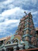 South Indian Hindu Temple Gopuram Main Entrance