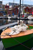 Sailing Boat in Stavanger, Norway