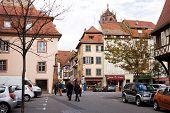 A Scenic Cityscape Of Selestat In France