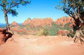 Sedona, Red Sandstone, Az, Usa