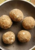 Churma Ladoo - A wheat based sweet from India