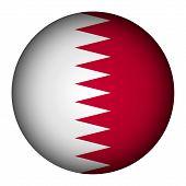 Qatar Flag Button.