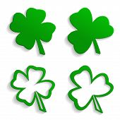 Set Of Icons Clover