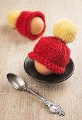 knitted egg warmer