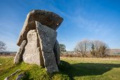 Trethevy Quoit Cornwall England