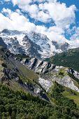 Meije Glacier Near La Grave (france)