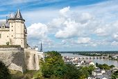 Castle Of Saumur, Maine-et-loire Department (france)
