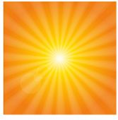 wonderful yellow orange sunshine
