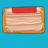 Bacon Package With Label