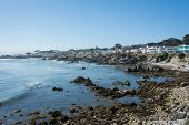 The coast of Monterey, California