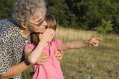 garandmother and grandchild