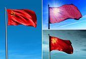 Soviet Union (1922-1991) Flag Waving On The Wind