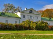 YASNAYA POLYANA, TULA, RUSSIA - SEPTEMBER 28, 2012: The Volkonsky House