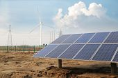 Environmental Protection Of Solar And Wind Power Generation, Power Tower