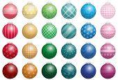 Christmas Tree Balls Colors