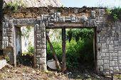 Derelict Building In Jajce