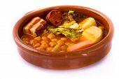 Madrid guisado en cazuela, comida española