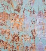 Texture of old grunge rust wall
