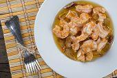 Shrimp Scampi For Appetizer