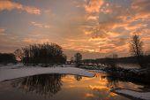 Dawn At The River