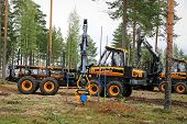 National Forest Machine Operator Competition, Finland