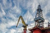 Blackford Dolphin drilling platform