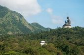 Hongkong,Hongkong-July 4,2014: Tian Tan Buddha on Lantau Island