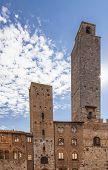 Piazza  Duomo In San Gimignano