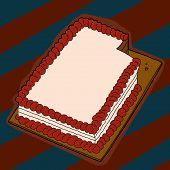 Cake With Missing Slice