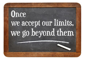 picture of einstein  - once we accept our limits - JPG