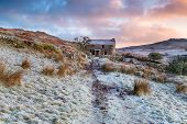 Winter Sunrise On Garrow Tor